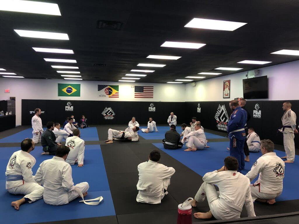 Gracie Charlottesville Academy Adult Fundamentals Class